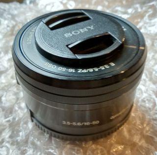 Objetivo Sony SELP1650 en buen estado