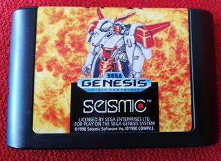 MUSHA Mega Drive Solo Cartucho