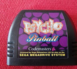 Psycho Pinball Mega Drive Solo Cartucho