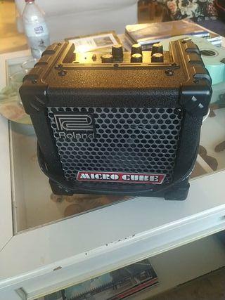 amplificador raland micro cube