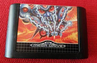 Truxton Mega Drive Cartucho