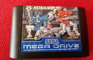 Probotector Mega Drive Cartucho