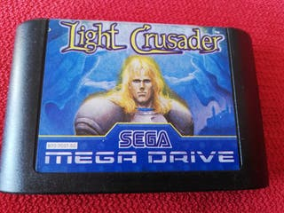 Light Crusader Mega Drive Cartucho