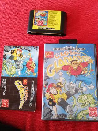 Global Gladiators Mega Drive Completo