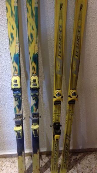 Conjunto ski rossignol