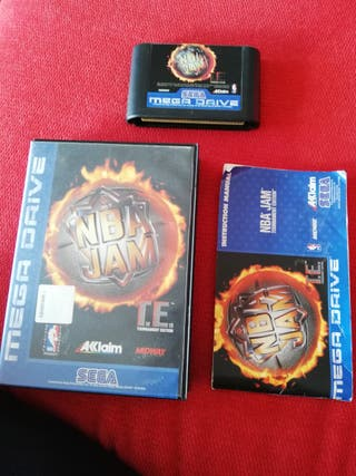 NBA Jam TE Mega Drive Completo