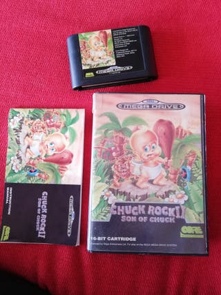 Chuck Rock II Mega Drive Completo