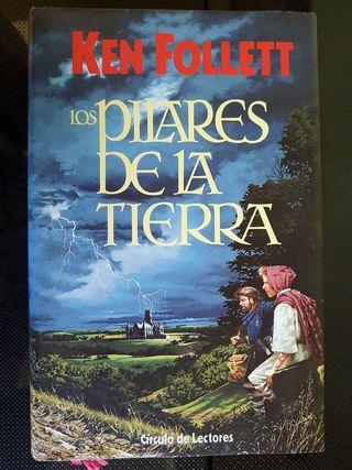LOS PILARES DE LA TIERRA TAPA DURA ED. 1989