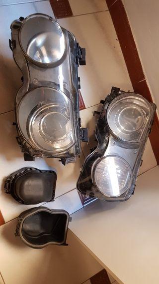 proyectores faros xenón originales bmw compact e46
