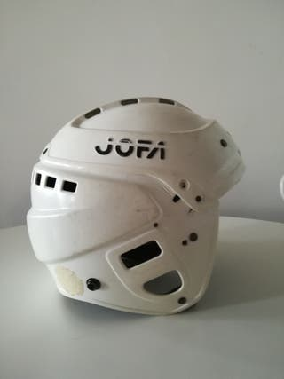 casco hockey talla m