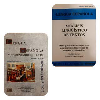 2x1 Lengua española y análisis de textos.