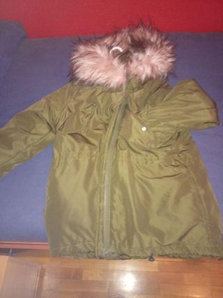 Abrigo verde h&m