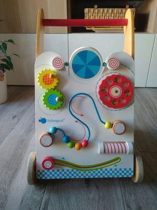andador Imaginarium madera bebés