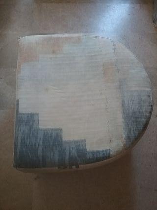 Puff, taburete reposapies 65 x 65 x 36 alto