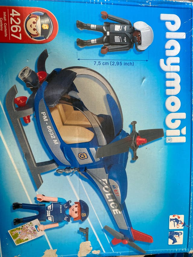 Playmobil helicoptero