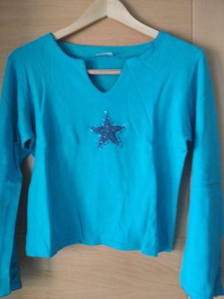 camiseta sra. manga larga T. L