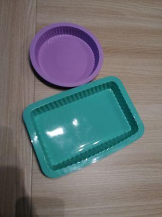 pack de moldes para tartas