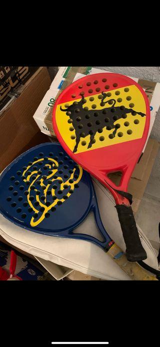 Palas de padel y de Ping pong