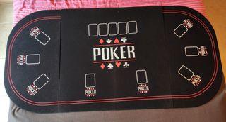 mesa póker plegable