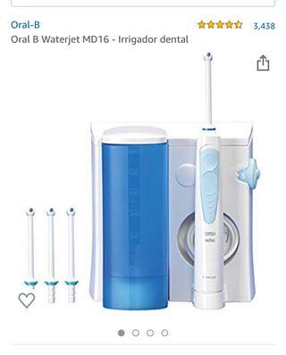 Irrigador dental Oral B waterjet