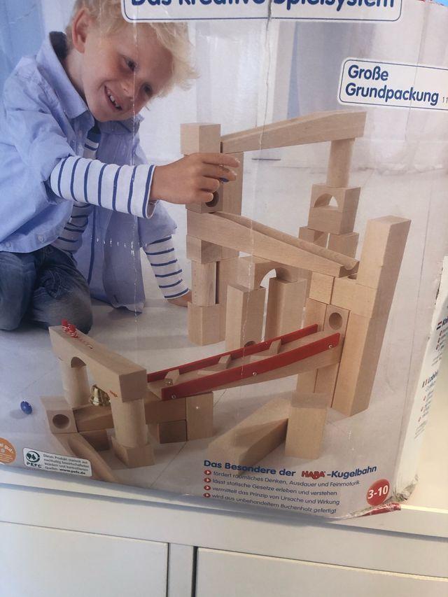 HABA BALL TRACK SET Juego creativo de madera