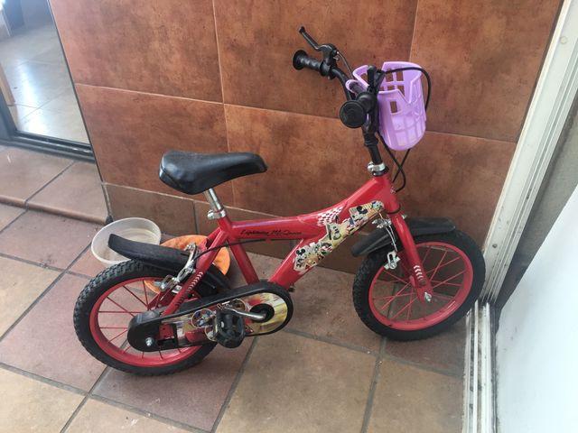 Bicicleta de niño de 4o5 años