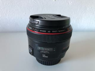 Objetivo Canon 50mm f/1,2 L USM