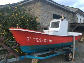 Barco de pesca recreativa
