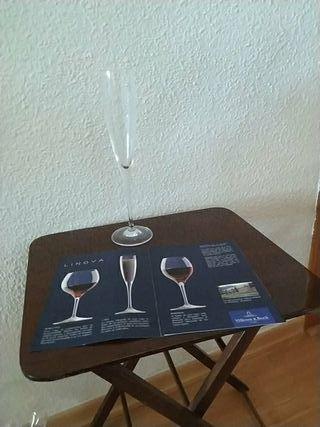 6 copas champán Villeroy-Bosch