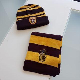 Conjunto gorro y bufanda Harry Potter Griffindor