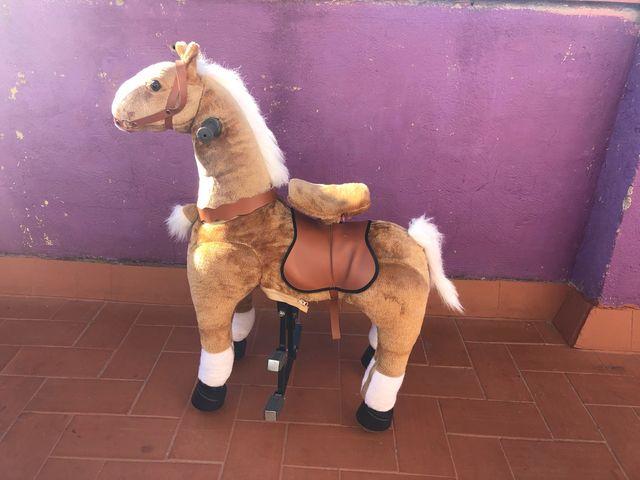 Caballo de pie juguete para niños