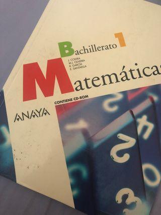 1º BACHILLERATO MATEMATICAS 1 ANAYA