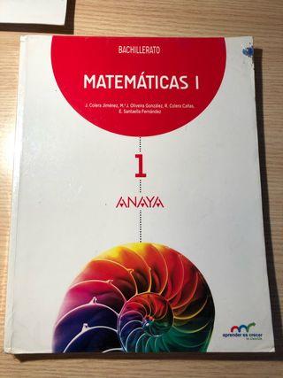 Matematicas 1 Anaya