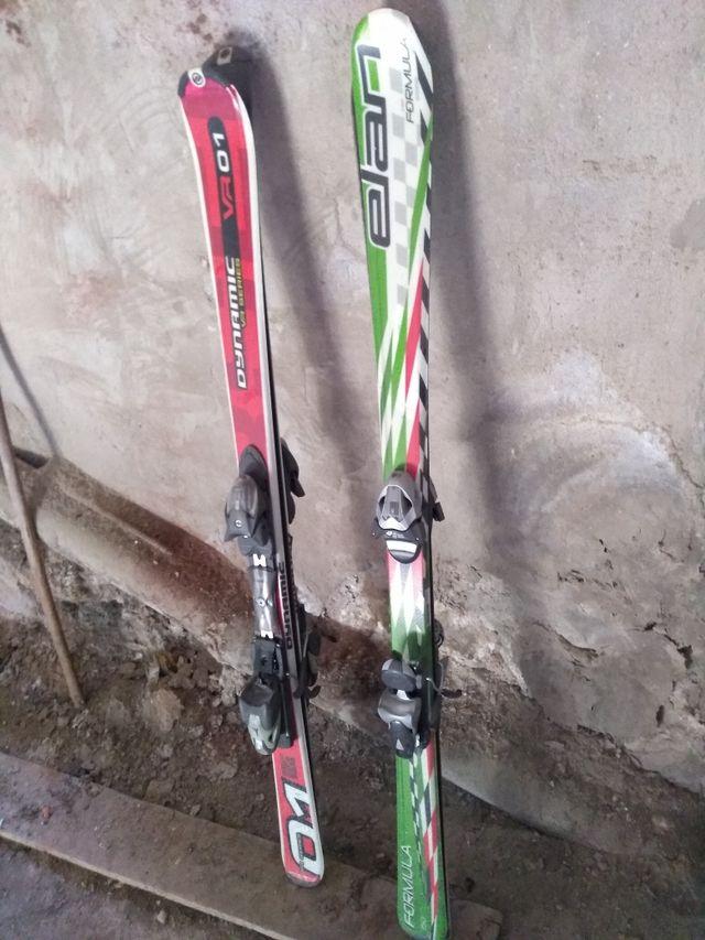 2, pares de Esquís