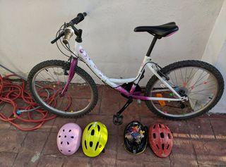 Bicicleta de niña 24 pulgadas