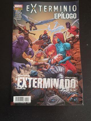 Marvel grapa Exterminio epílogo
