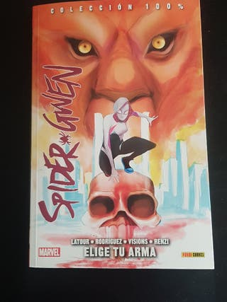 100% Marvel Spider-Gwen 2. Elige tu arma