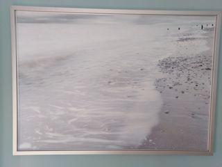 cuadro lienzo playa