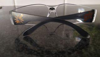 Gafas protección para petardos