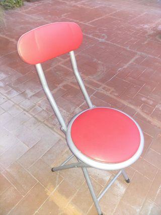 6 sillas plegables