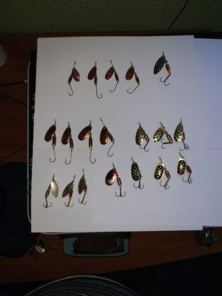 cucharillas de pesca EVIA