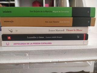 Libros de lectura Bachillerato