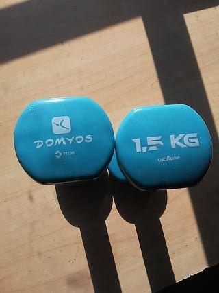 pesas oxylane 1.5kg