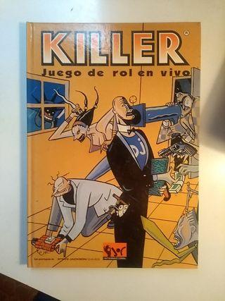 Juego rol en vivo KILLER