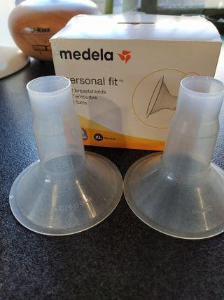 30 mm talla XL Embudo para sacaleches Medela