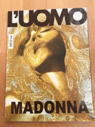 madonna revista uomo vogue magazine 2005