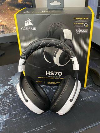 Auriculares inalámbricos Corsair hs70