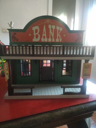casa Playmobil Banco bank completo