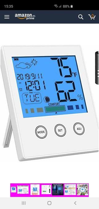 Higrómetro Termómetro Digital