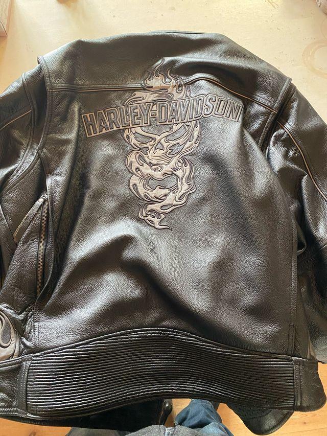Cazadora Harley Davidson Skull XXL